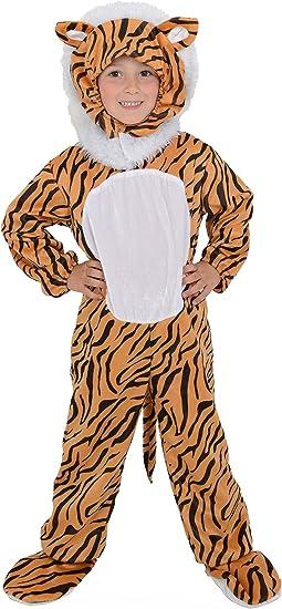 Kids infantil de tigre del mundo libro día disfraz de Halloween ...