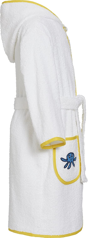Playshoes Kids Terry Bathrobe Sea Animals Hooded