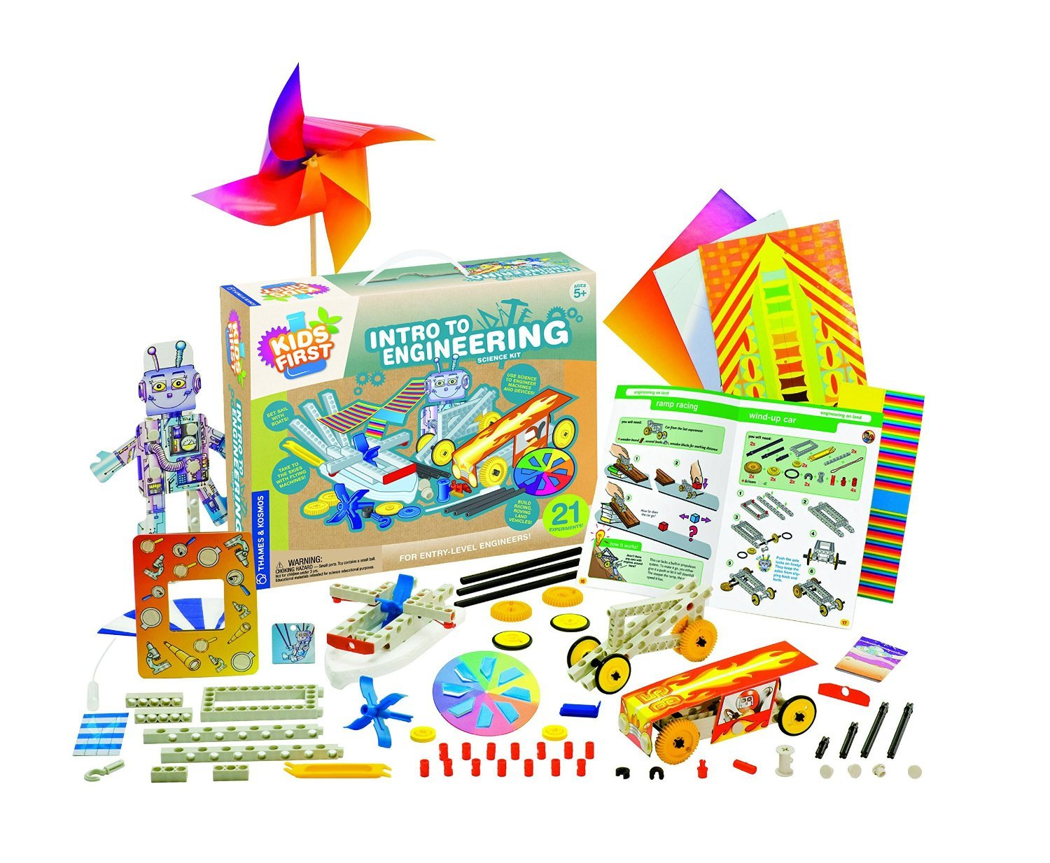 Kids First Intro to Engineering Kit by Kids First Thames /& Kosmos