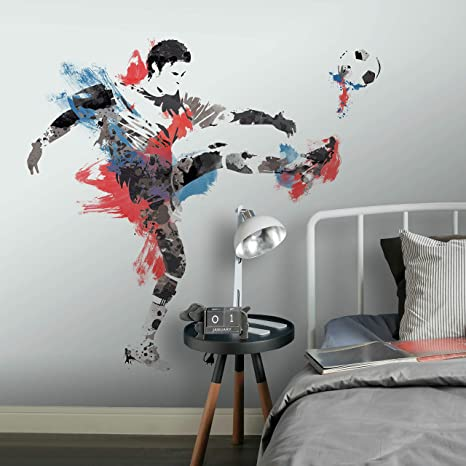 Soccer Champion Fan Giant Wall Sticker
