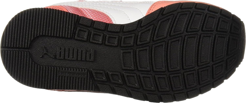 PUMA Kids St Runner V2 Mesh Sneaker Velcro Closure