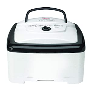NESCO FD-80A, Square-Shaped Dehydrator, White Speckled, 700 watts