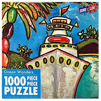 Colors of Cruising by Patti Schermerhorn 1000 Piece Puzzle: Toys & Games