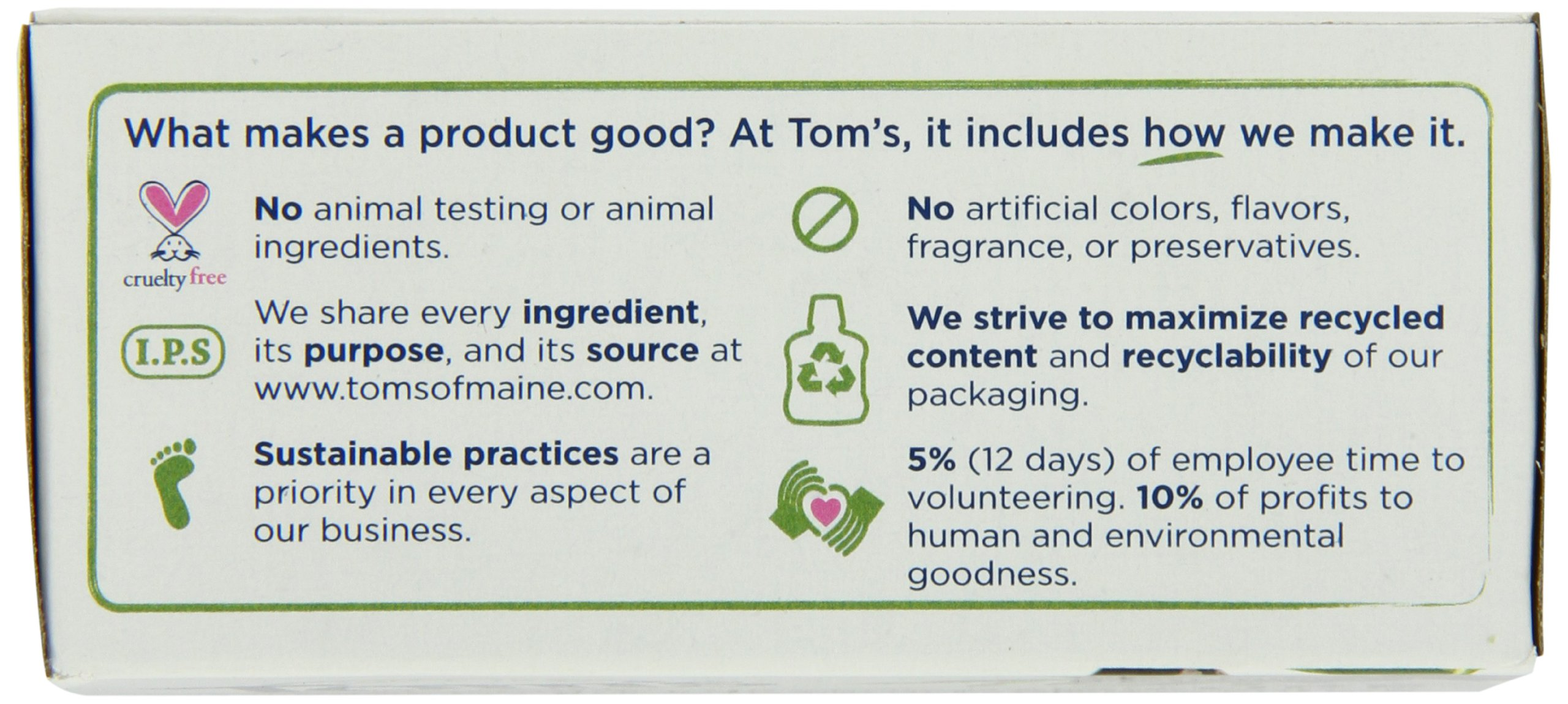 Tom's of Maine Moisturizing Bar Daily, 4-Ounce Bar, Pack of 6 by Tom's of Maine (Image #13)