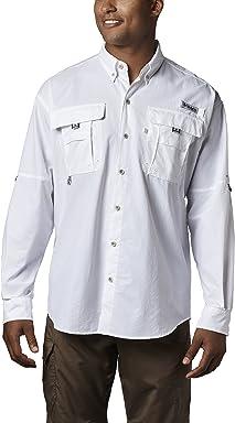 Columbia Mens PFG Bahama II Long Sleeve Breathable Fishing Shirt