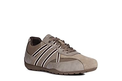Geox RAVEX Sneakers basse Uomo Monocromo Casual Lacci