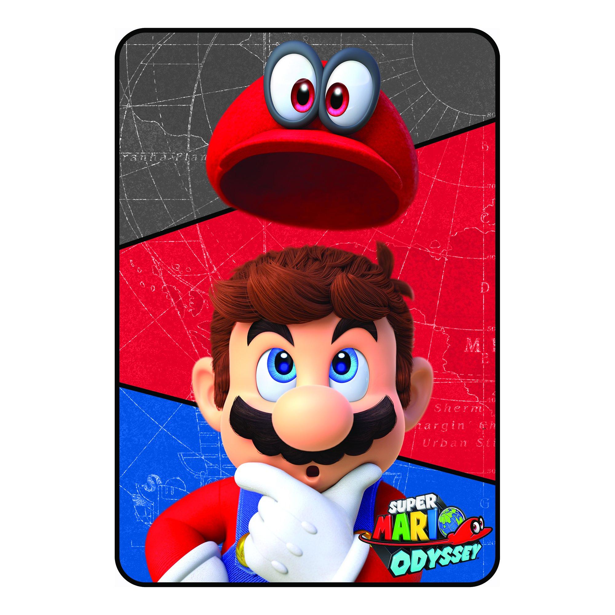 Nintendo Super Mario World Microraschel Blanket, 62 x 90