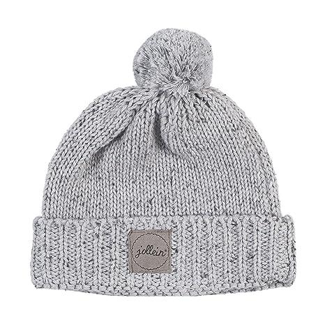 Bonnet pour bébé 9 à 18 Mois Jollein Confetti Knit - Gris  Amazon.fr ... 70f19a09c49