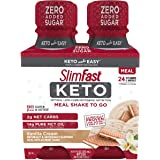 SlimFast Keto Meal Replacement Shake - Vanilla Cream - Ready to Drink Meal Replacement - 11 Fl. Oz. Bottle - 4 Count…