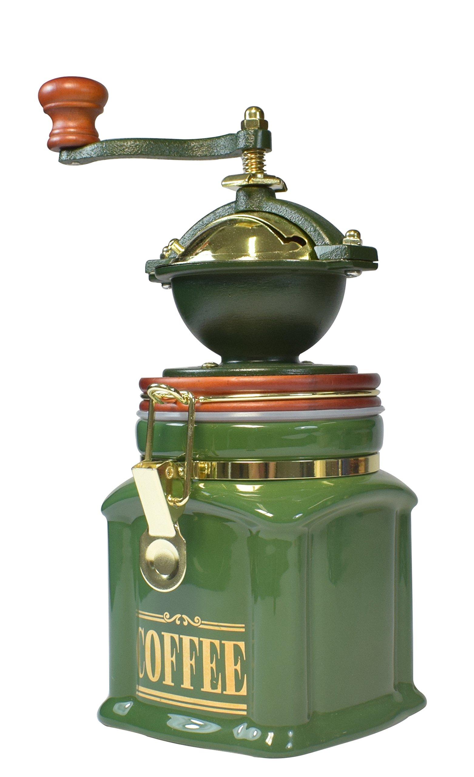 Bisetti 61130 Vivalto Coffee Grinder, Green