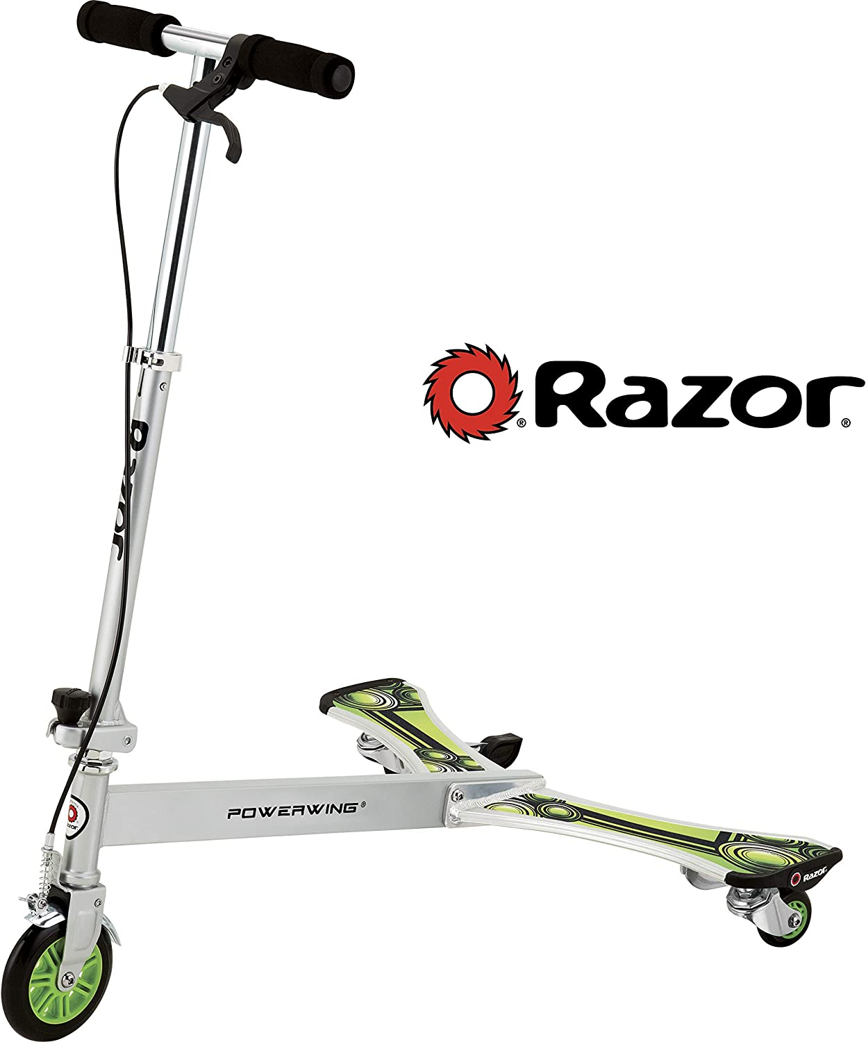 Razor PowerWing DLX Caster Scooter