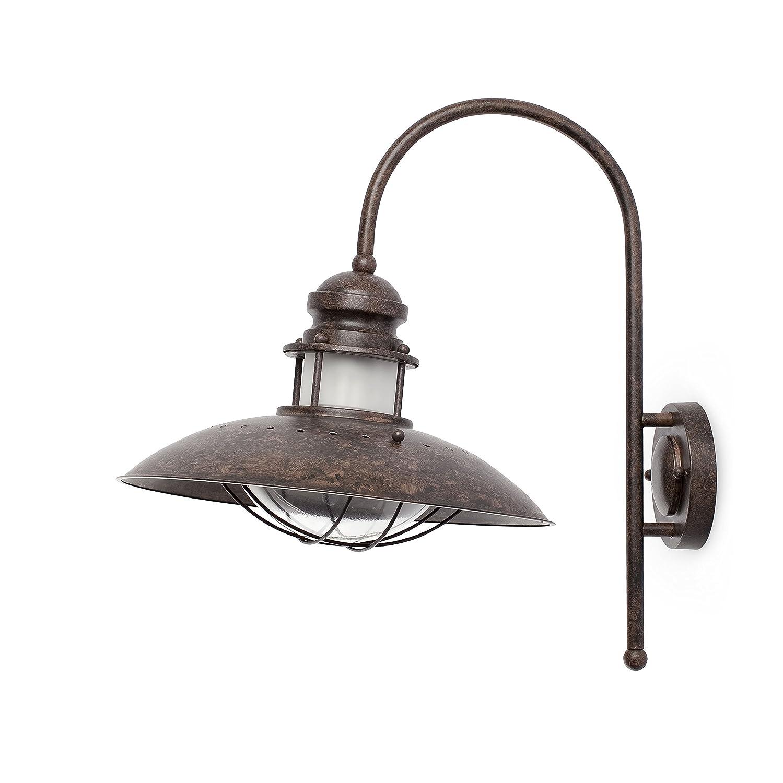 Faro 66201 - WINCH Lampada da parete Marroneee h.460mm