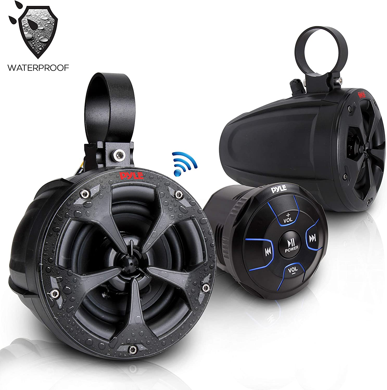 Pyle Dual Bluetooth Off-Road Speakers