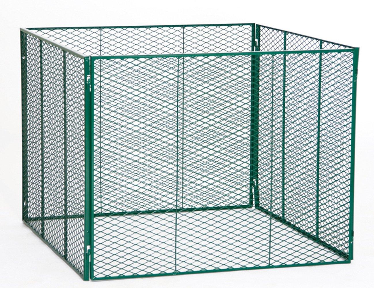 Streckmetall Richtig Anbringen brinkmann brista komposter verzinkt ral 6005 beschichet amazon de