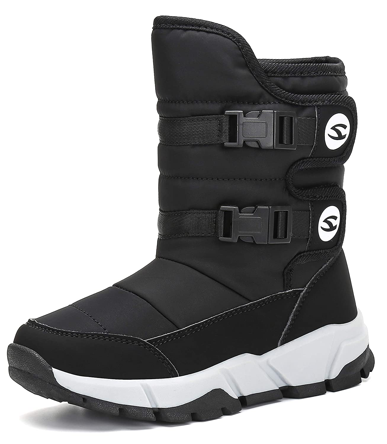 katliu Warm Lined Snow Boots for Kids