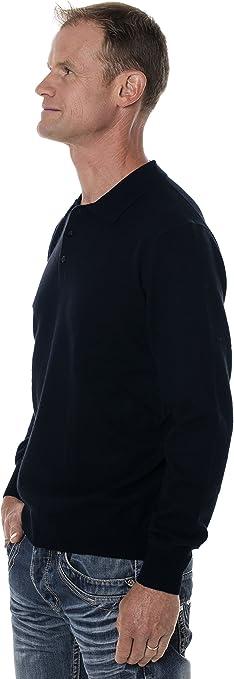 Ugholin - Jersey Cuello Polo Cachemira & Merino para Hombre ...