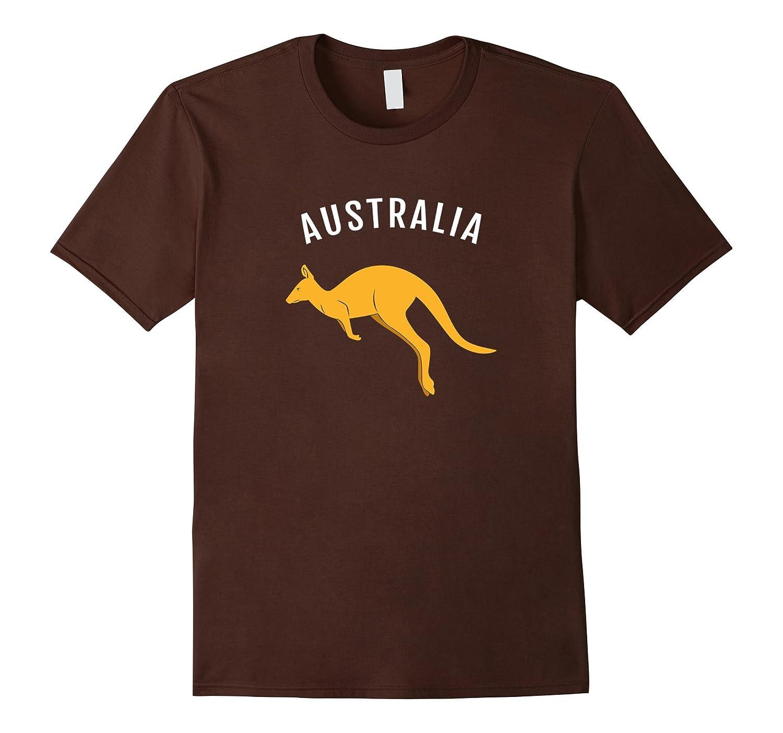Australia Kangaroo Australian Souvenir T-shirt-AZP