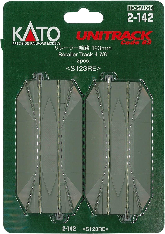 Kato KAT2142 HO 123mm 4-7//8 Straight Road Crossing 2