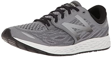 New Balance Men's Fresh Foam Zante V3 Running Shoe, Gunmetal/Black, ...