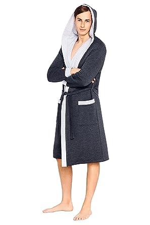 Mens Luxury Robe Housecoat Dressing Gown Bathrobe at Amazon Men\'s ...