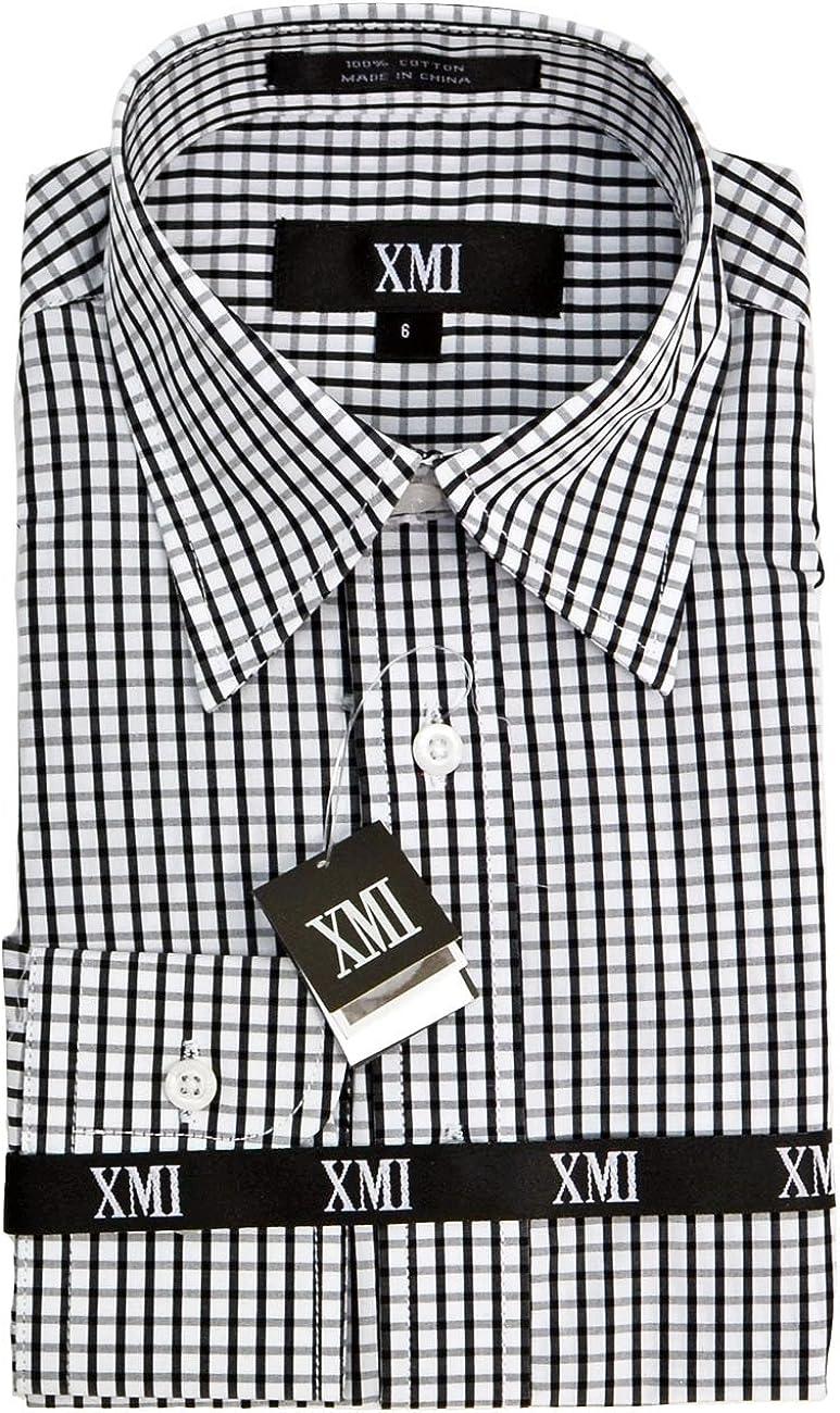 XMI Boys Long Sleeve Solid Shirt
