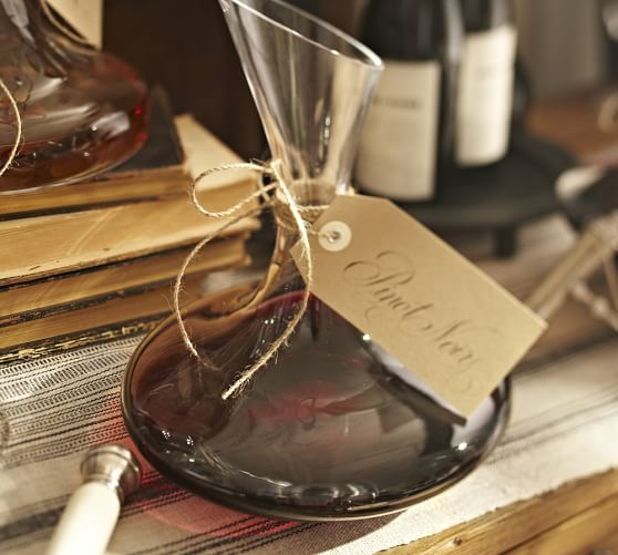 Vino Wine Decanter | Pottery Barn