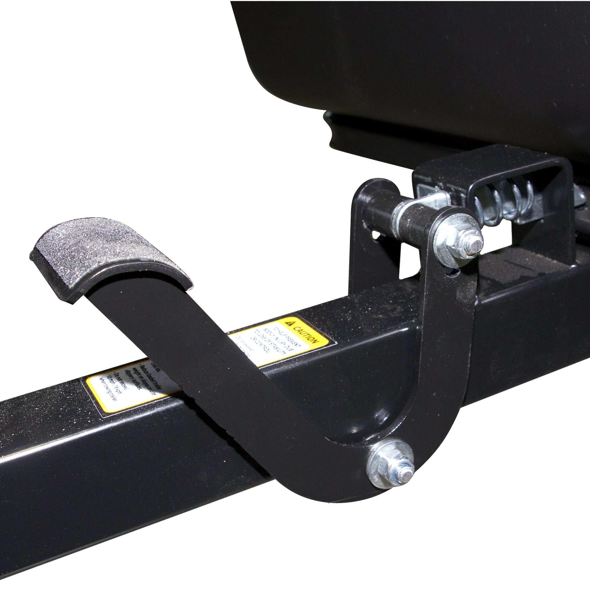 Polar Trailer Foot Pedal Latch Carbon Steel Body Easy to Use Release and Tilt with Feet Easy Install Useful Accessory, Black by Polar Trailer (Image #1)