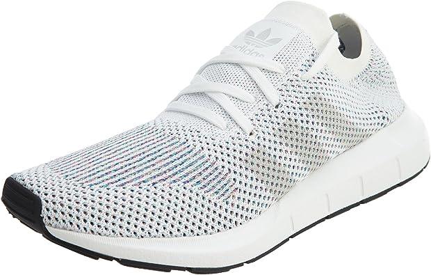 adidas Swift Run Primeknit White Grey