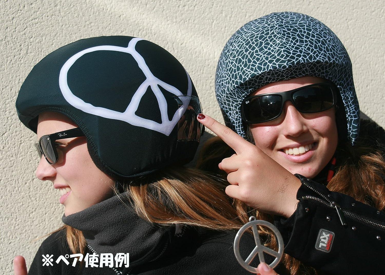 Peace/&Love Cool Casc Funda universal de casco
