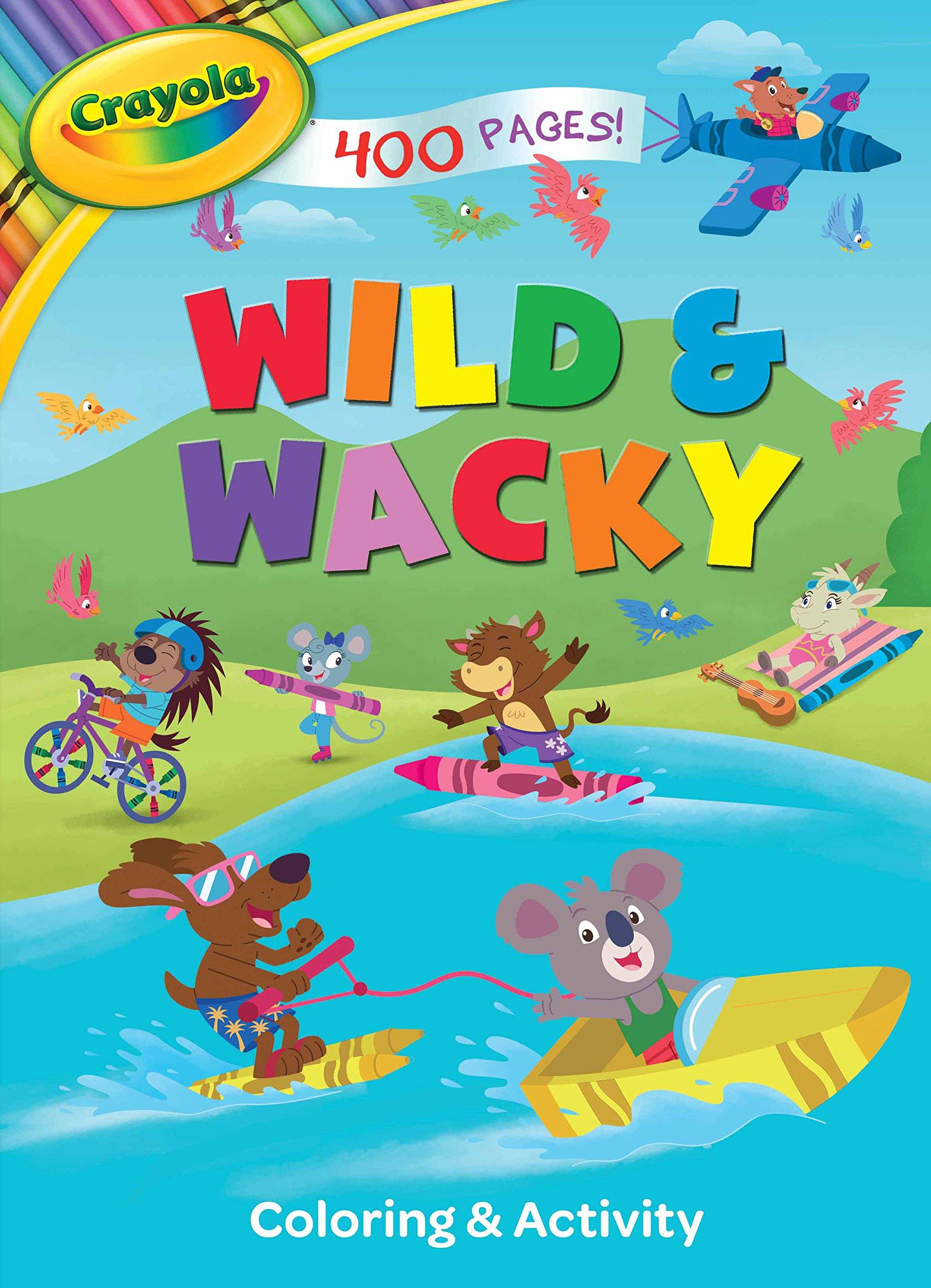 Crayola Wild & Wacky Coloring & Activity pdf