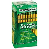 Product of Ticonderoga Woodcase Pencil, HB #2, Yellow Barrel, 96ct. - [Bulk Savings]
