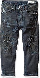 Diesel Boys Narrot-r J S Np Regular Carrot Leg JoggJeans Jeans Denim 6 Diesel Children's Apparel 00J37EKXA1X-K01-6
