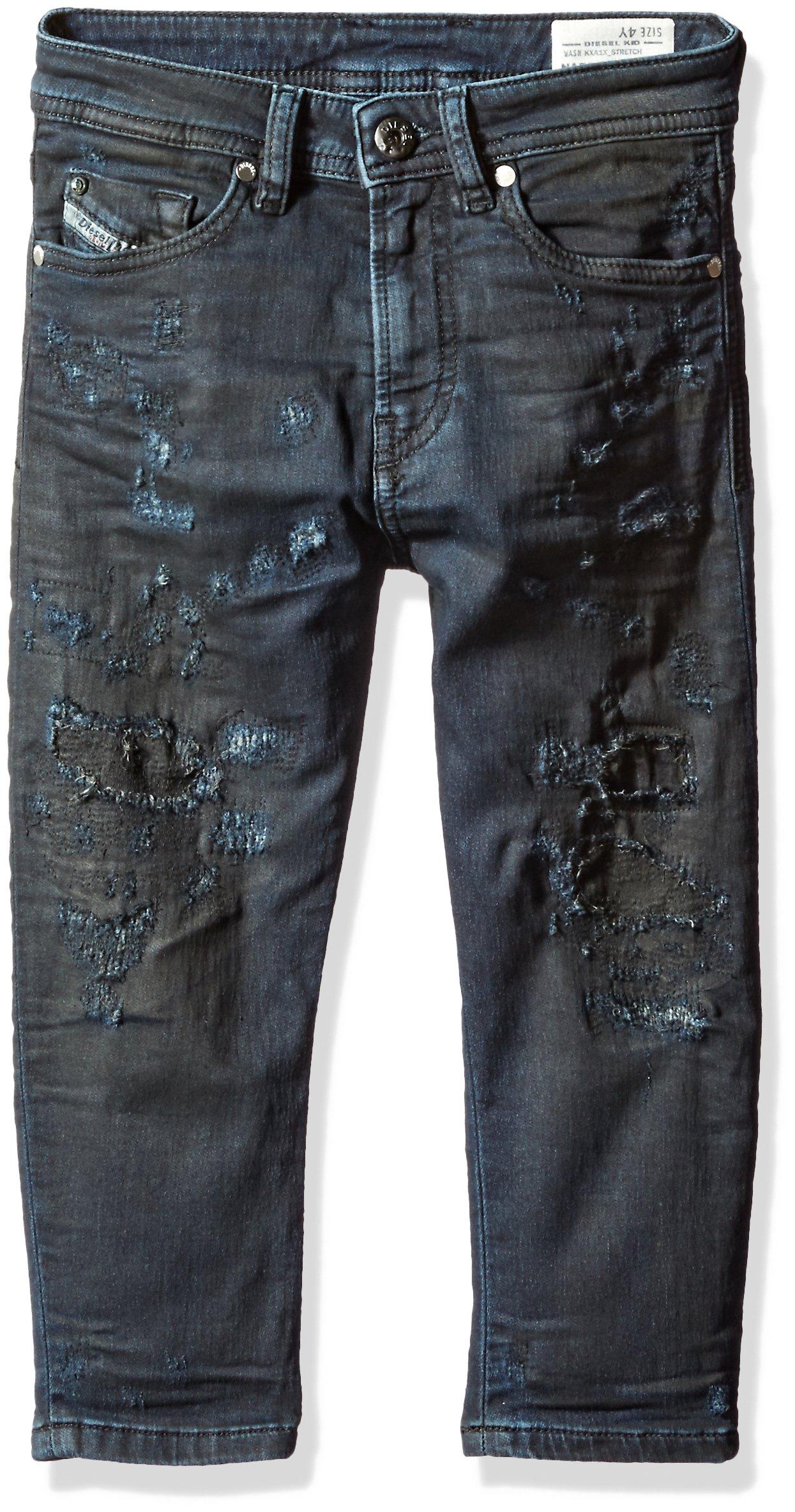Diesel Big Boys' Narrot-R J S Np Regular Carrot Leg JoggJeans, Denim, 10