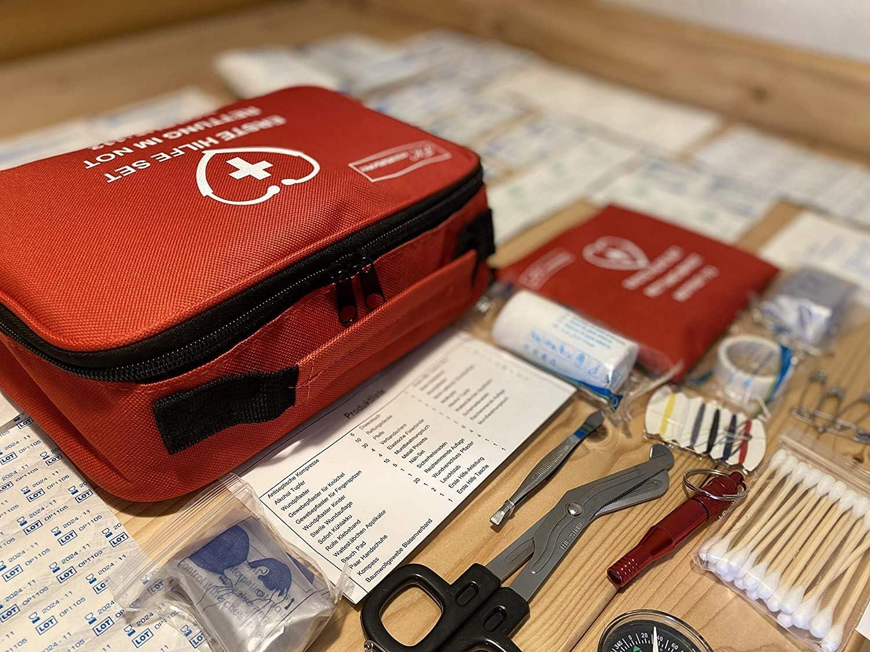 el senderismo el deporte 154 Botiqu/ín de primeros auxilios para el hogar el camping el autom/óvil el trabajo,
