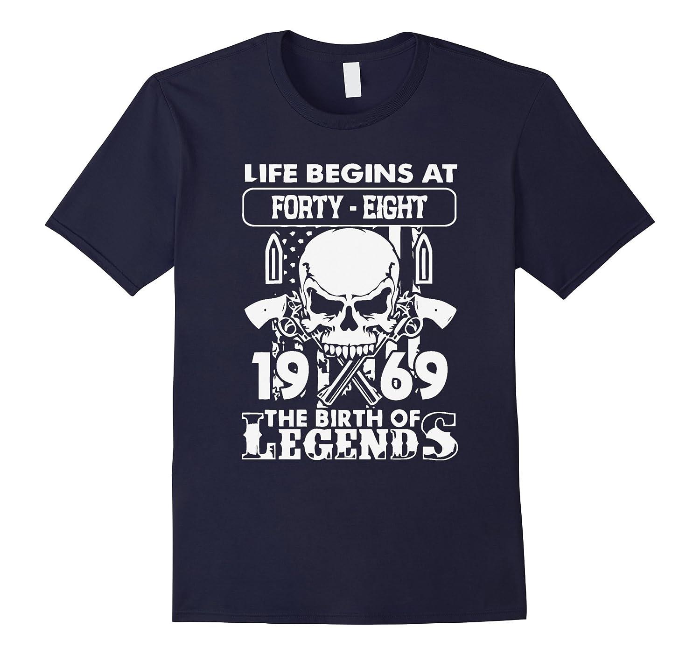 1969 the birth off legends xmas shirt-Art