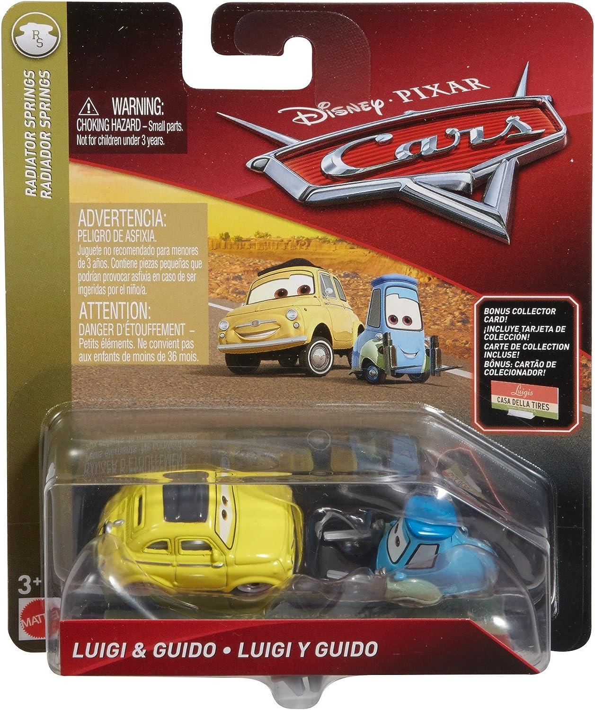 Amazon Com Disney Pixar Cars Die Cast Guido Luigi With