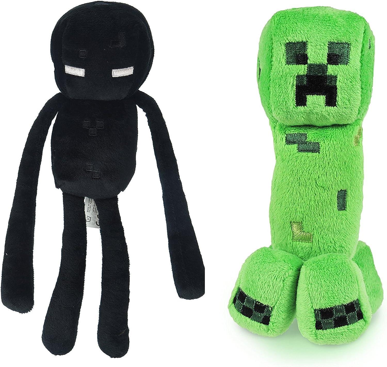 Minecraft 11 Plush Enderman & Creeper Set Of 11