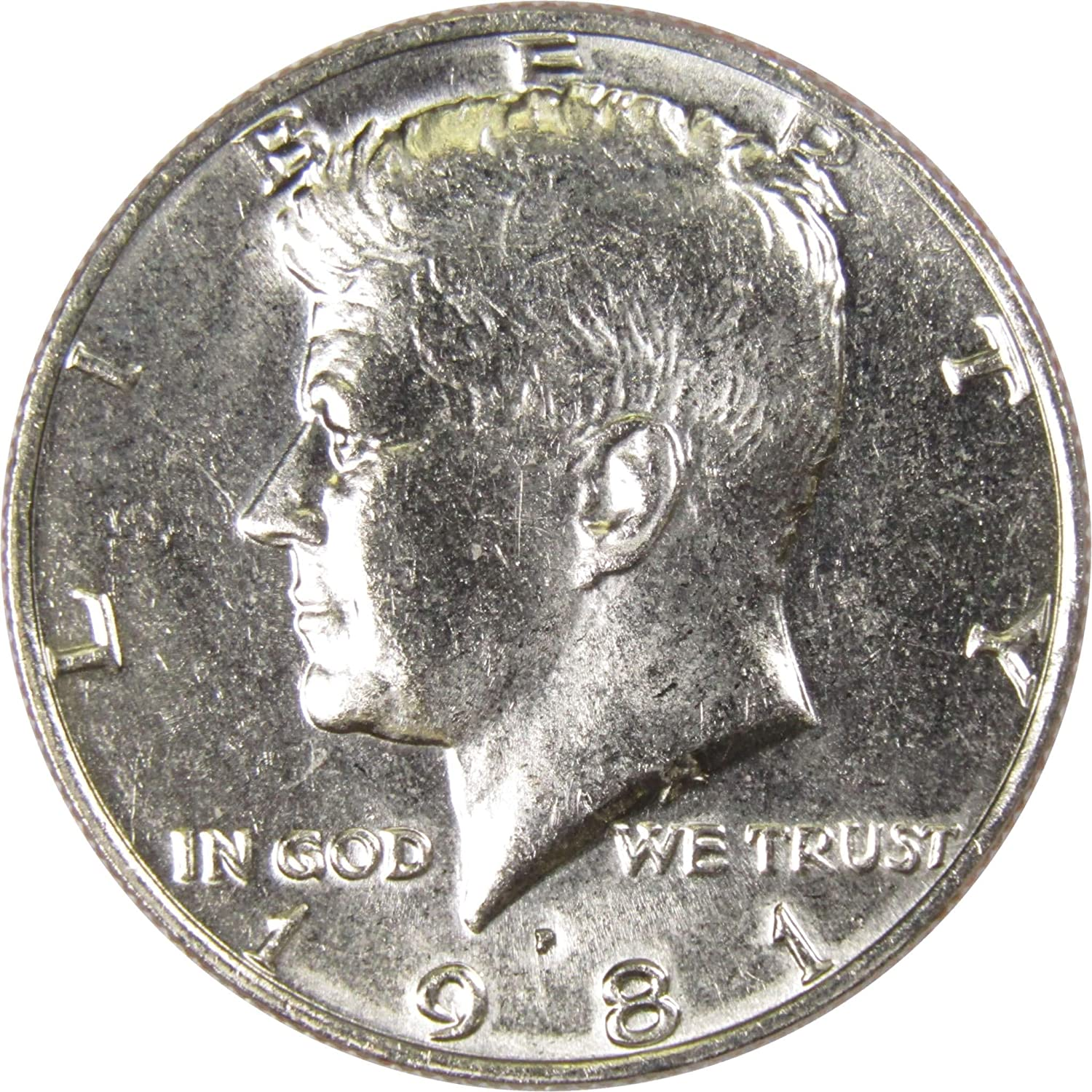 1981 P 50c Kennedy Half Dollar US Coin Uncirculated Mint