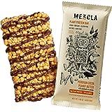 Mezcla Vegan Plant Protein Bars - Peruvian Cocoa PB: Premium Ingredients, Delicious Flavor, 10G of Protein, Gluten-Free, Non-