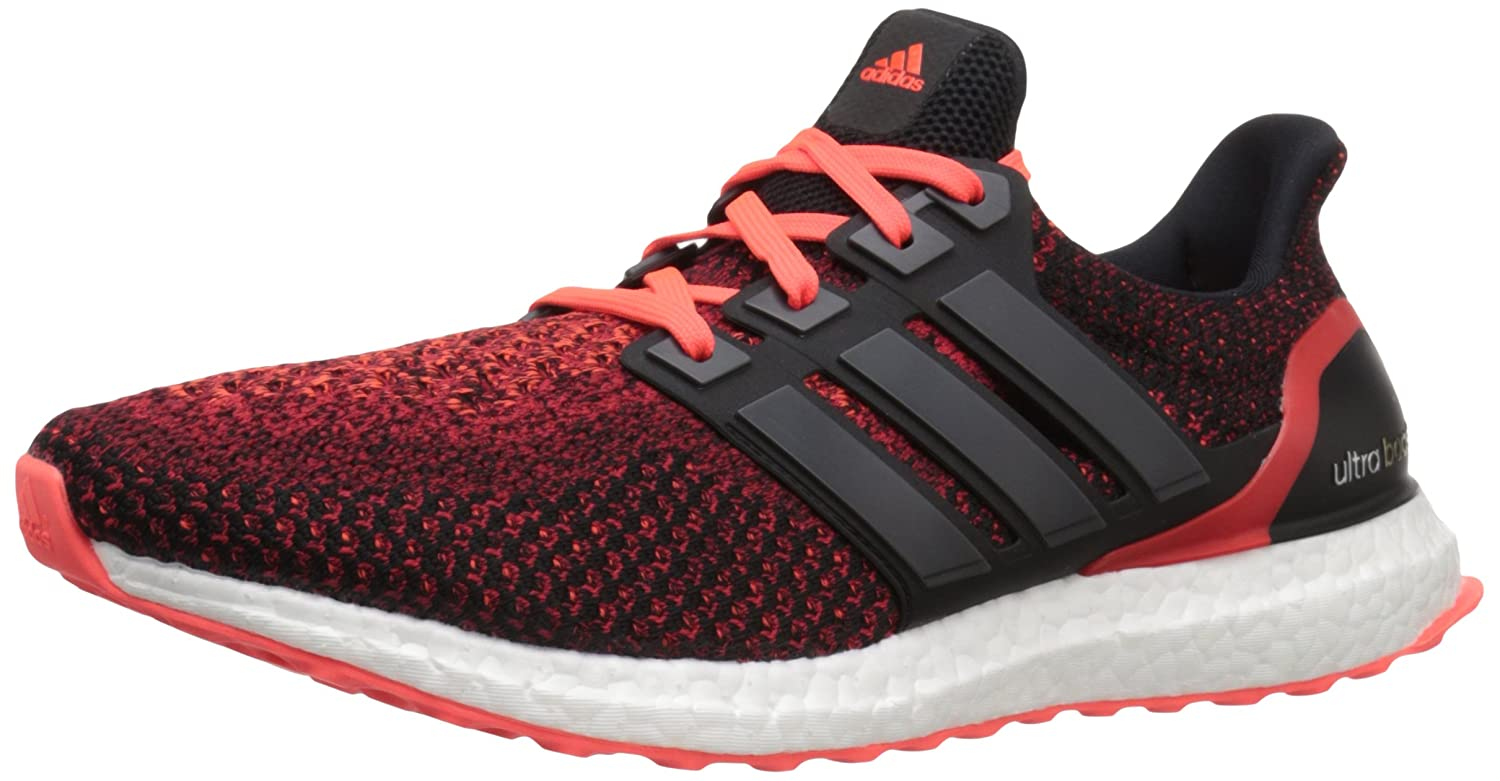 adidas Performance Men's Ultra Boost M Running Shoe B01CGX1LWE 8.5 D(M) US|Black/Black/Infrared