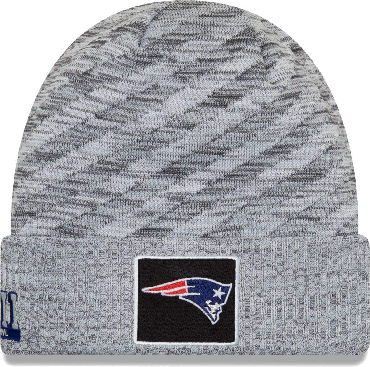 15380286f10d3c Amazon.com : New Era New England Patriots Super Bowl LIII Bound On-Field  Knit- Light Gray : Sports & Outdoors