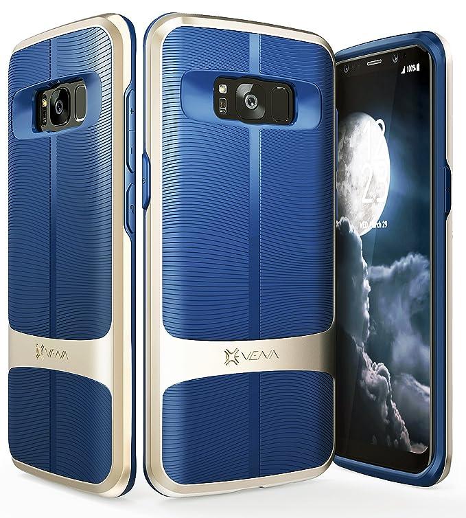 1 opinioni per Vena Custodia Galaxy S8 Plus, Cover [vAllure] Struttura dell'onda [Bumper Frame]
