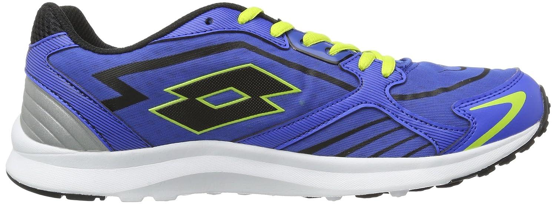 Lotto SPEEDRIDE - Zapatillas de correr de material sintético hombre, color Violeta, talla 45