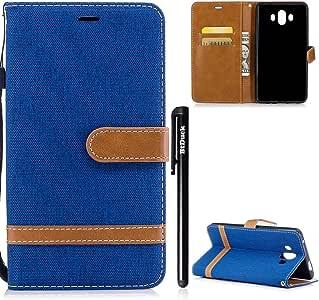 btduck caso claro para Huawei mate10 hechizo color denim
