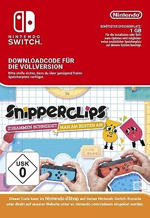 7d73eab20483 Snipperclips - Zusammen schneidet man am besten ab  Switch Download Code