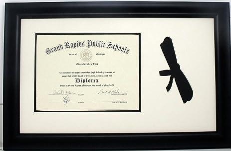 Amazon.com - High School Graduation Diploma Certificate Photo Frame ...