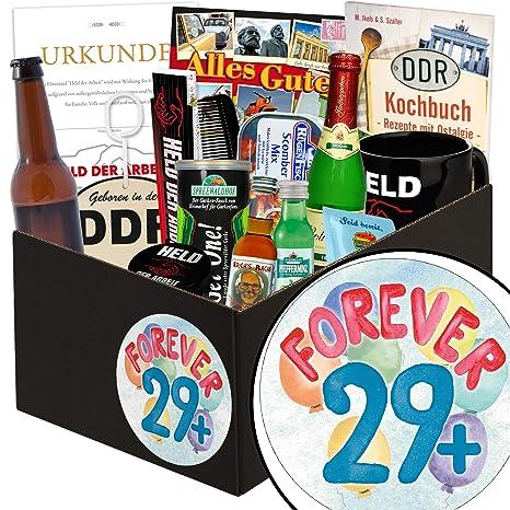 Forever 29 Mann Geschenkbox Geschenkset Forever 29