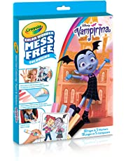 Crayola Canada Mess-Free Color Wonder Book, Vampirina, Mess Free Colouring, Washable, No Mess, for Girls and Boys, Gift for Boys and Girls, Kids, Ages 3, 4, 5,6 and Up, Holiday Gifting, , Stocking , Arts and Crafts,  Gifting