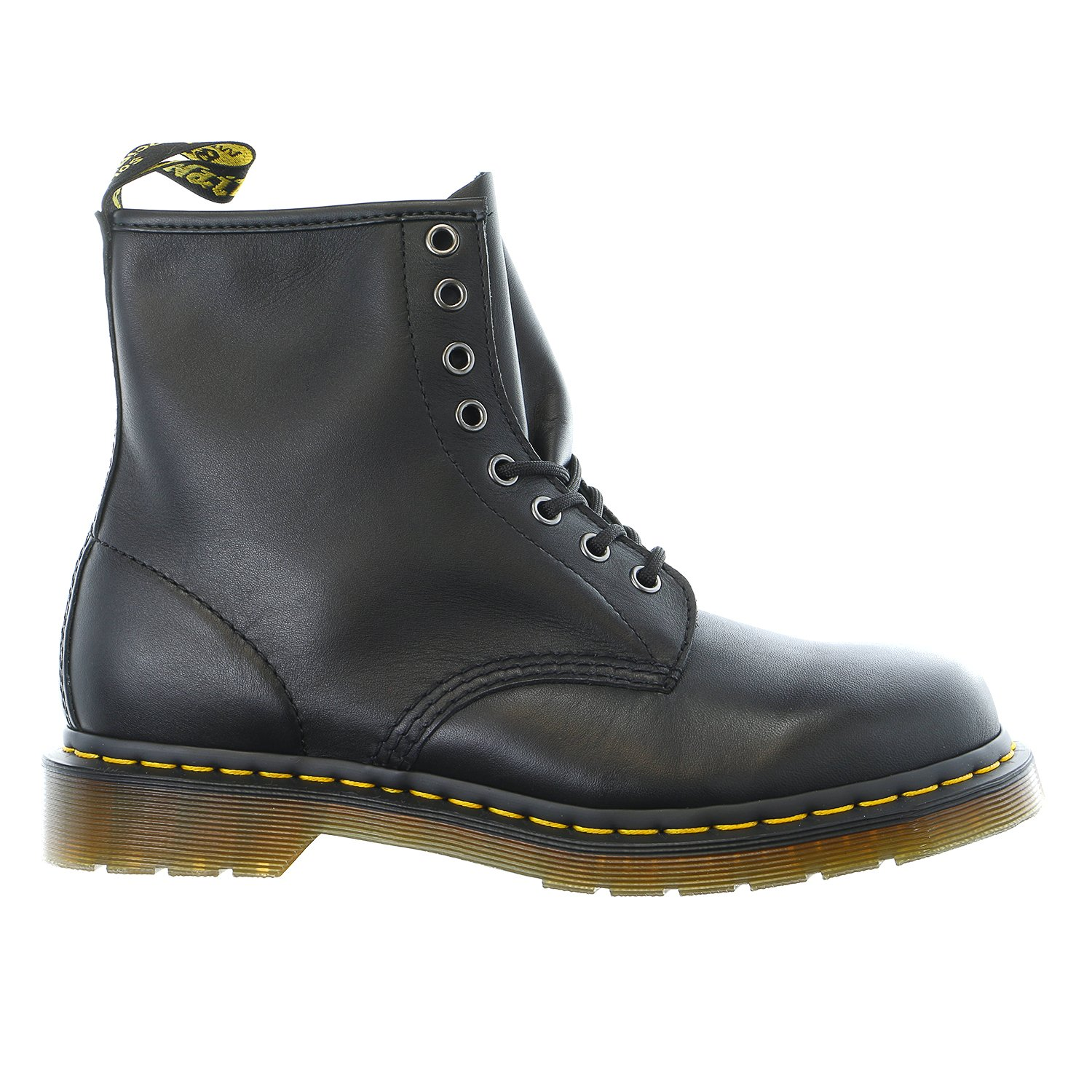 Dr. Martens Men's 1460 Re-Invented 8 Eye Lace Up Boot,Black Nappa Leather,9 UK (10 M US Mens)