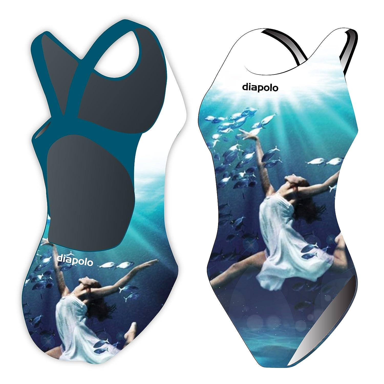 Diapolo Synchr Ballerina Badeanzug Synchro Kollektion für Schwimmen Synchronschwimmen Wasserball Triathlon